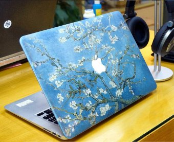 Ốp Macbook hoa đào tuyệt đẹp -C002 11.6 Air