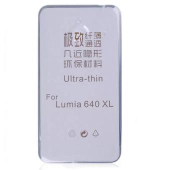 Ốp Silicon 0.33mm cho Microsoft Lumia 640XL (trong suốt)
