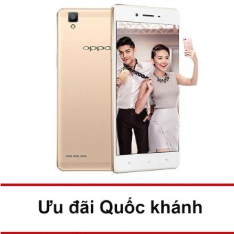 OPPO F1 16GB Ram 3GB (Vàng) - Hãng phân phối chính thức