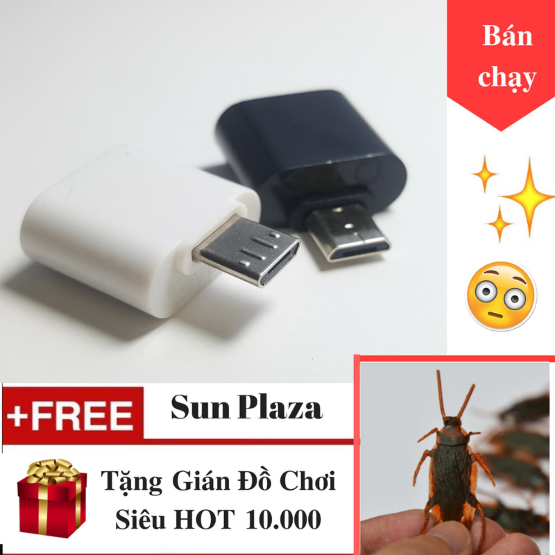 OTG – Đầu chuyển Micro USB (dành cho android) + Tặng Gián Đồ Chơi