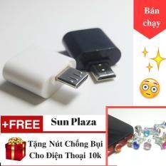 OTG – Đầu chuyển Micro USB (dành cho android) + Tặng Nút Chống Bụi Cho Điện Thoại
