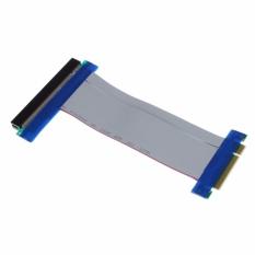 Giá Khuyến Mại PCI-E 8X To 16X Riser Card Ribbon Extender Extension Cable – intl