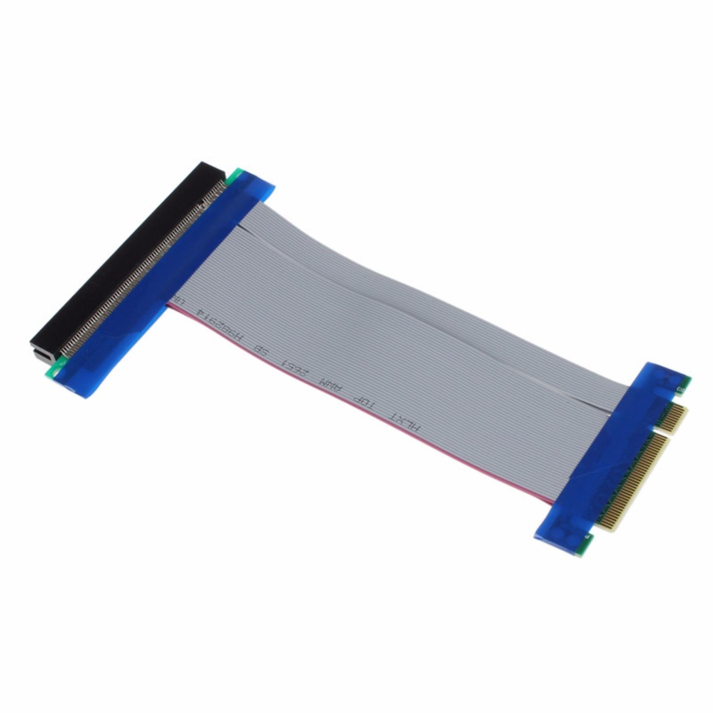 Chi tiết sản phẩm PCI-E 8X To 16X Riser Card Ribbon Extender Extension Cable – intl