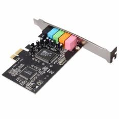 PCI Express x1 PCI-E 5.1ch CMI8738 Chipset Audio Digital Sound Card – intl