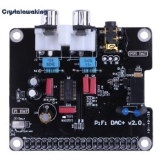 PCM5122 HIFI DAC Audio Sound Card Module I2S with LED Indicator for Raspberry Pi