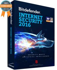 Phần mềm diệt virus Bitdefender Internet Security 2016 – 1PC/Year