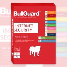 Phần mềm diệt virus BullGuard Internet Security 1 năm 1 máy tính – Tặng thêm 6 tháng sử dụng miễn phí
