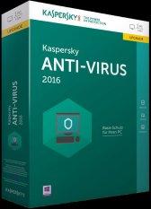 Phần mềm diệt virus Kaspersky Anti-Virus 1PC / 1 năm