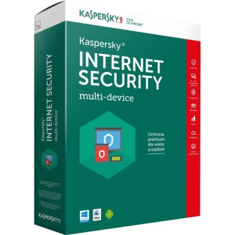 Phần mềm diệt virus Kaspersky Internet Security 1PC/year ( 2017 )