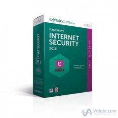 Giá PhầN MềM DiệT Virus Kaspersky Internet Security 2016 1pc 1 Năm