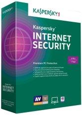 Phần mềm diệt virus Kaspersky Internet Security 3PC / 1 năm