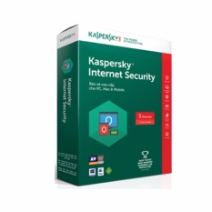 Phần mềm diệt Virus Kaspersky Internet Security 5PC 2018