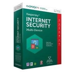 Phần mềm diệt virus Kaspersky Internet Security – Multi-Device 2016 (Xanh)