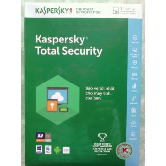 PHẦN MỀM DIỆT VIRUS KASPERSKY TOTAL SECURITY 1PC ( 2017 )