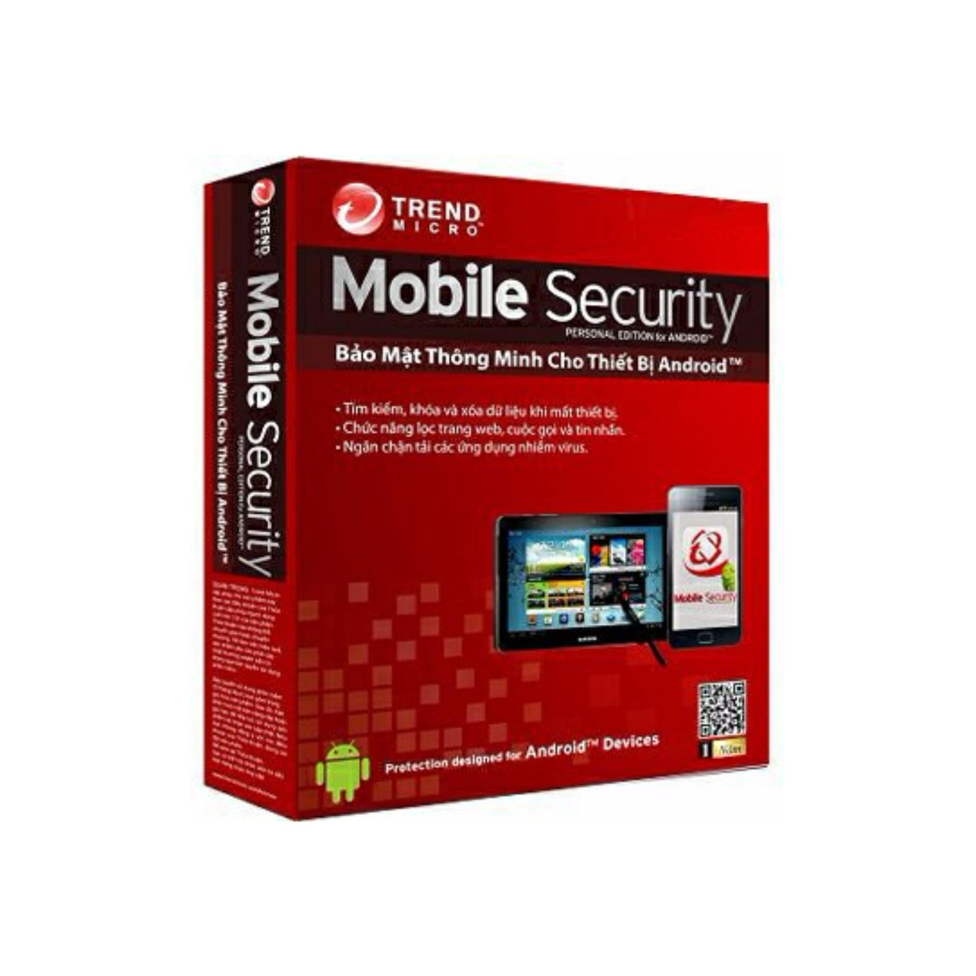 Phần mềm diệt virus Trend Micro Mobile Security Android/iOS/Winphone
