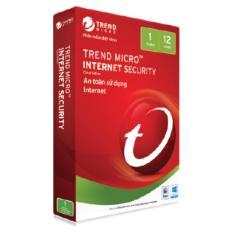 Phần mềm diệt virut Trend Micro Internet Security – 1PC
