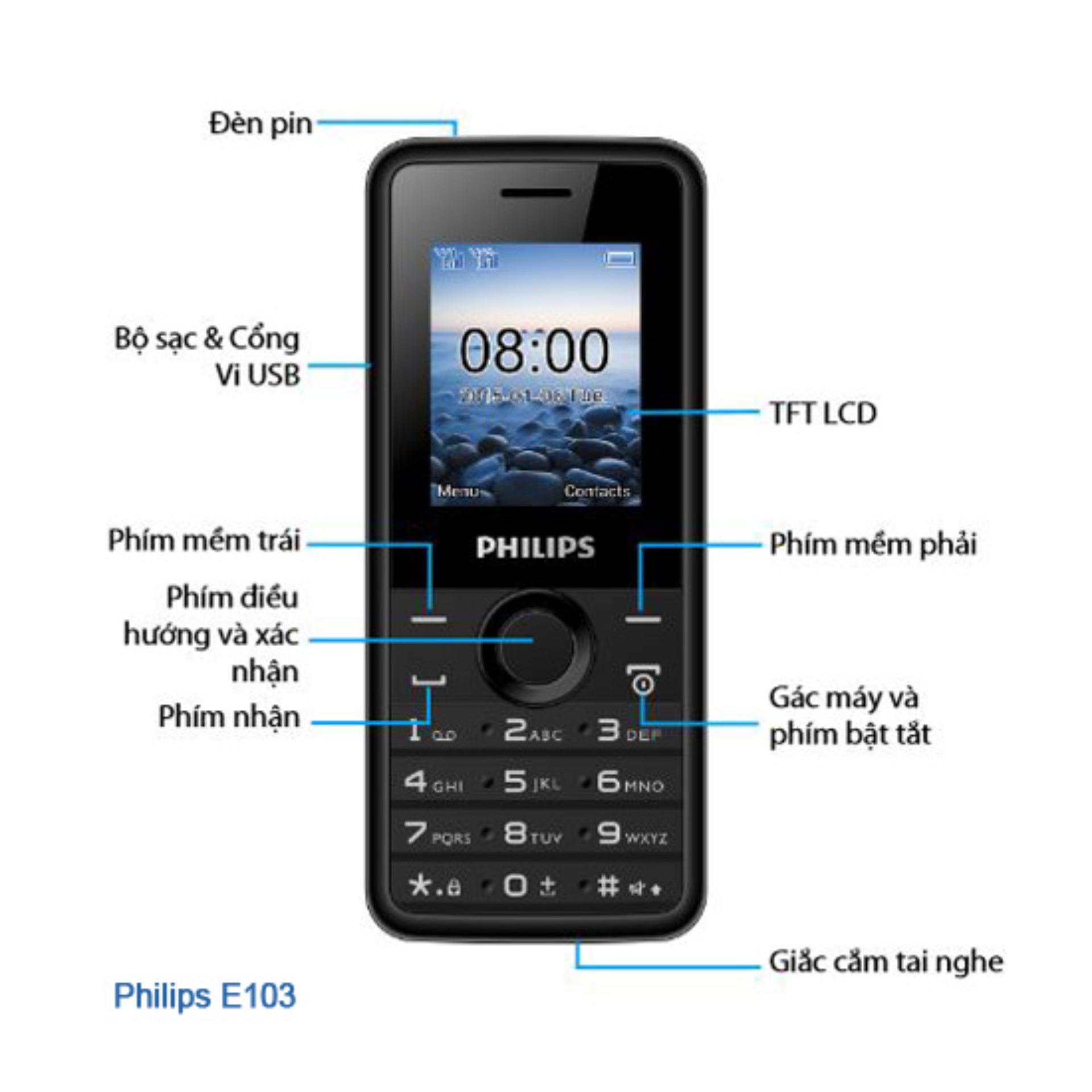 Philips E103 – Hãng Phân phối chính thức