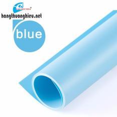 Phông chụp ảnh bằng nhựa PVC – Blue (1m* 2m)