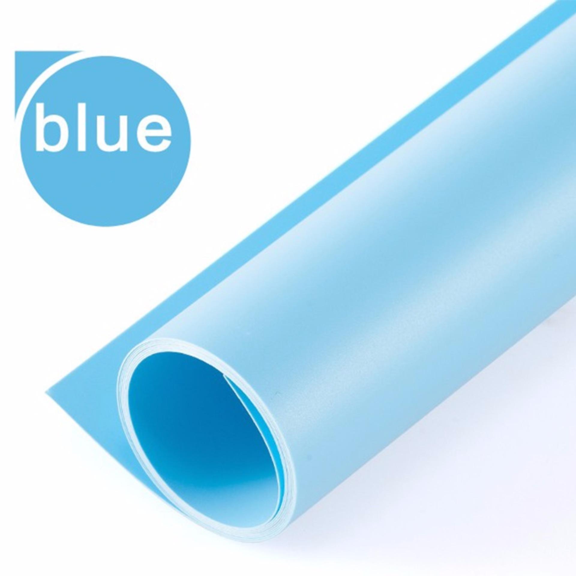 Phông nhựa PVC màu xanh da trời (1m* 1m)