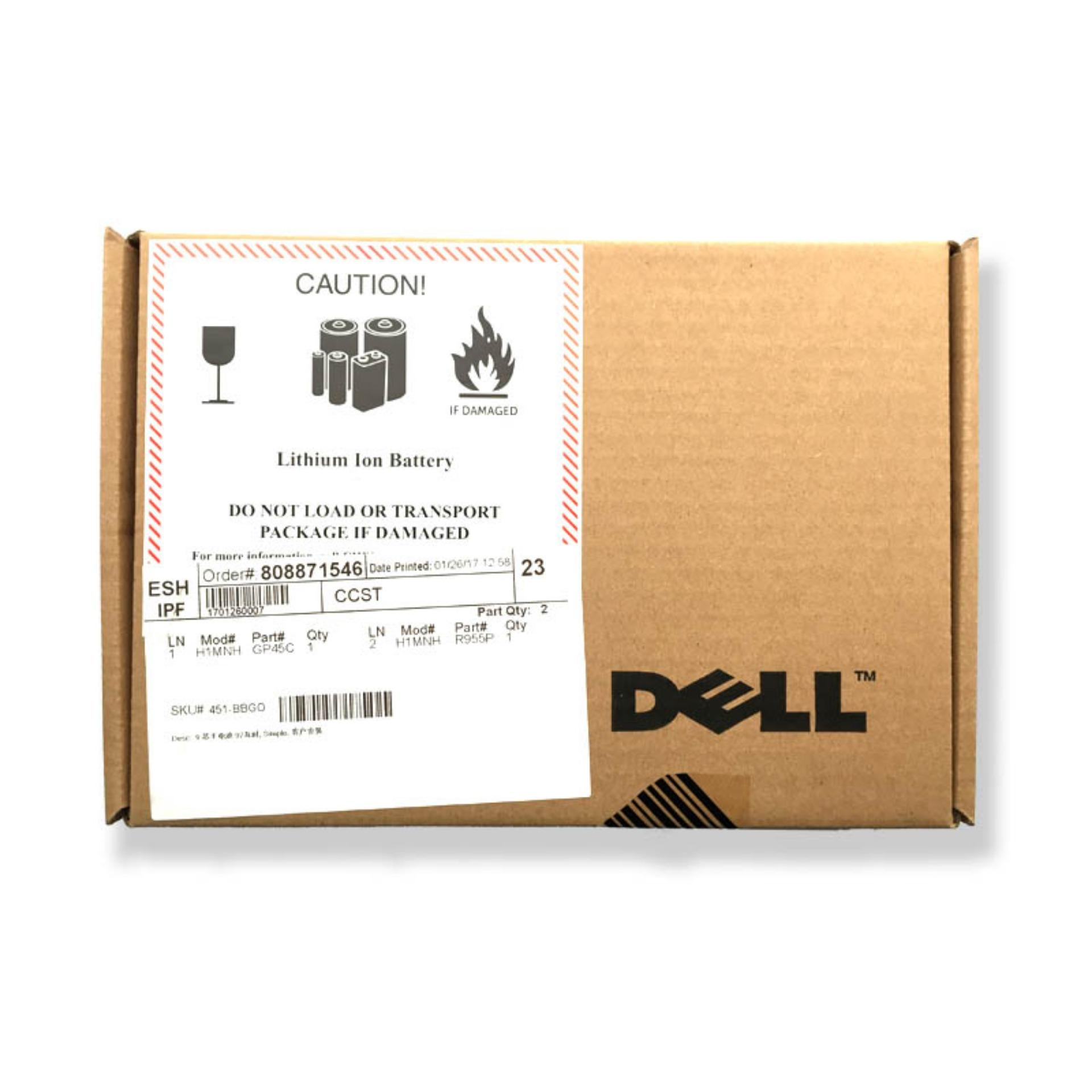 Pin (battery) DELL Precision M4600 M4700 M6600 9cell type FJJ4W
