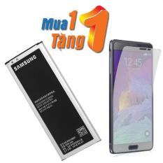 Pin cho Samsung Galaxy Note 4 2 sim + Tặng dán màn hình từ tính 3 lớp