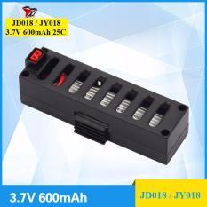 Pin dự phòng Flycam JD018 / JY018, 3.7V, 600mAh, 25C (Đen)