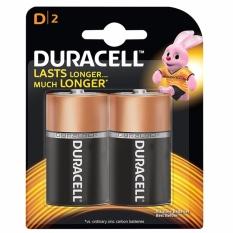 Pin Duracell Alkaline D Battery ( Bộ 2 Viên – Pin D)