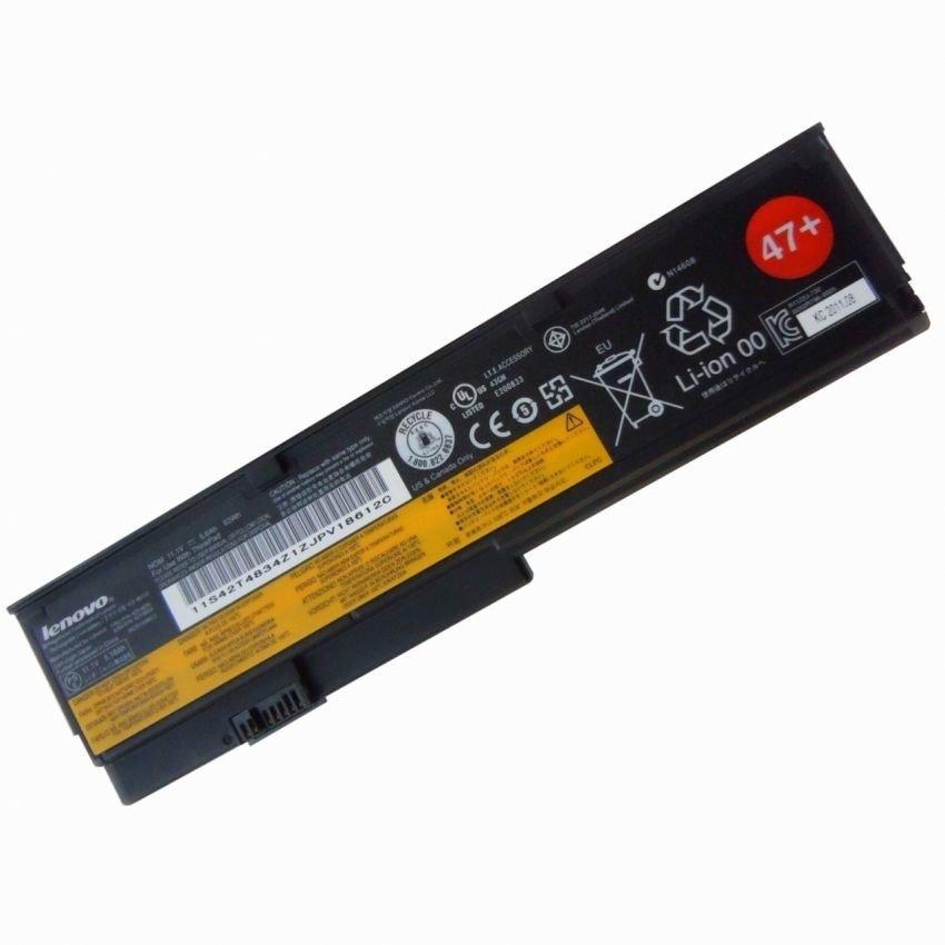 Pin Laptop Lenovo ThinkPad X200 X200s X201 X201s 6 cell (Đen) - Hàng nhập khẩu