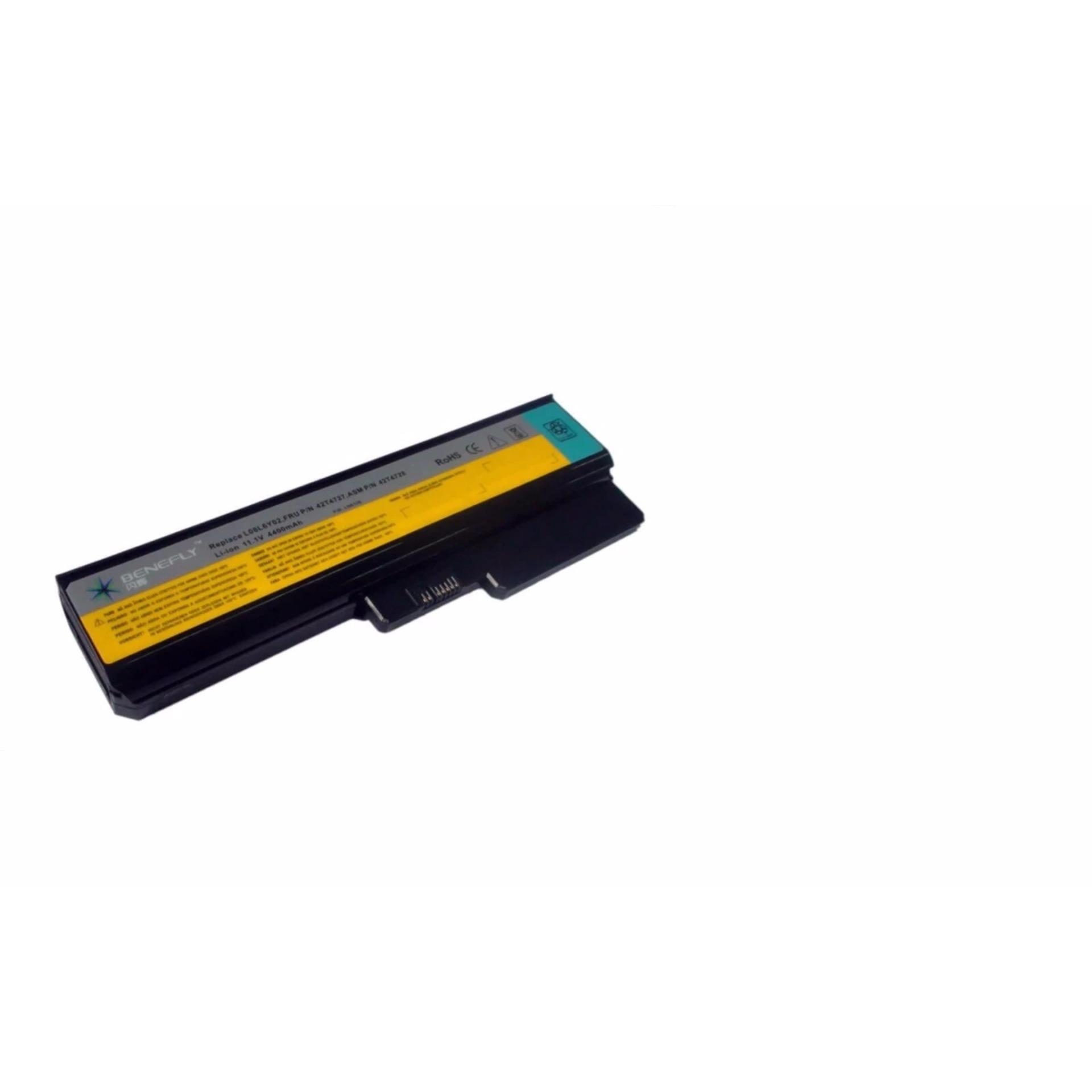 Pin Laptop Lenovo Y430 V430 V450 6Cells (Đen)