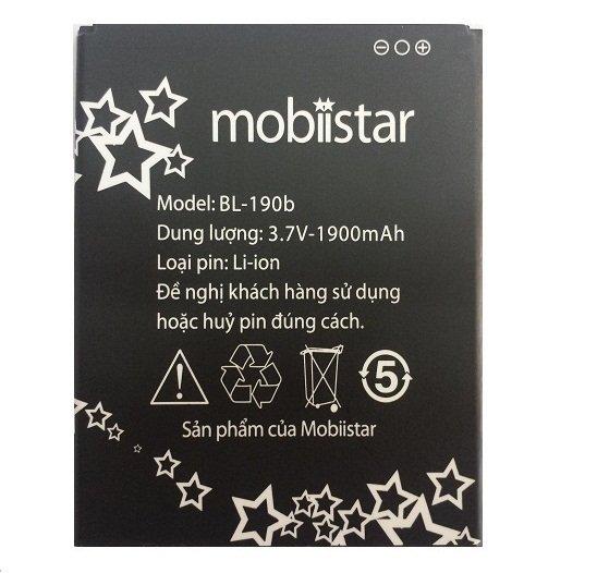 Bảng Giá Pin Mobiistar LAI 504m 1900mAh Tại Shop Áo Thun 60s
