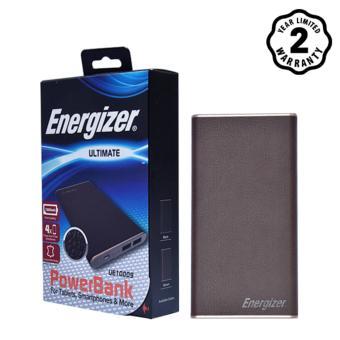 Pin sạc dự phòng Energizer 10000mAh Li-Po 2 Output Luxury Leather - UE10009DB