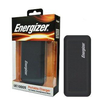 Pin sạc dự phòng Energizer UE10005 10.000mAh (Đen) - Hãng phân phối chính thức