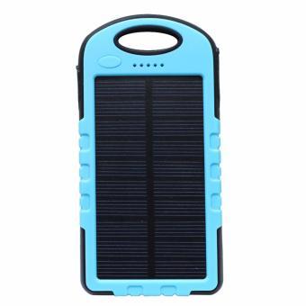 Pin sạc dự phòng năng lượng mặt trời kiêm đèn LED AVATECH 12000mAh(Xanh)