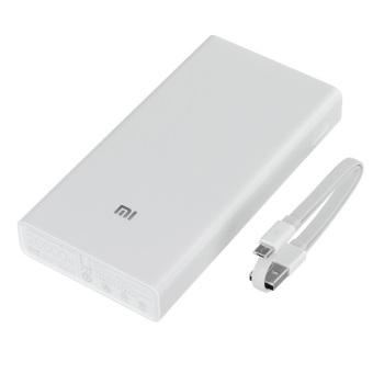 Pin sạc dự phòng Xiaomi 20000mah (Trắng)