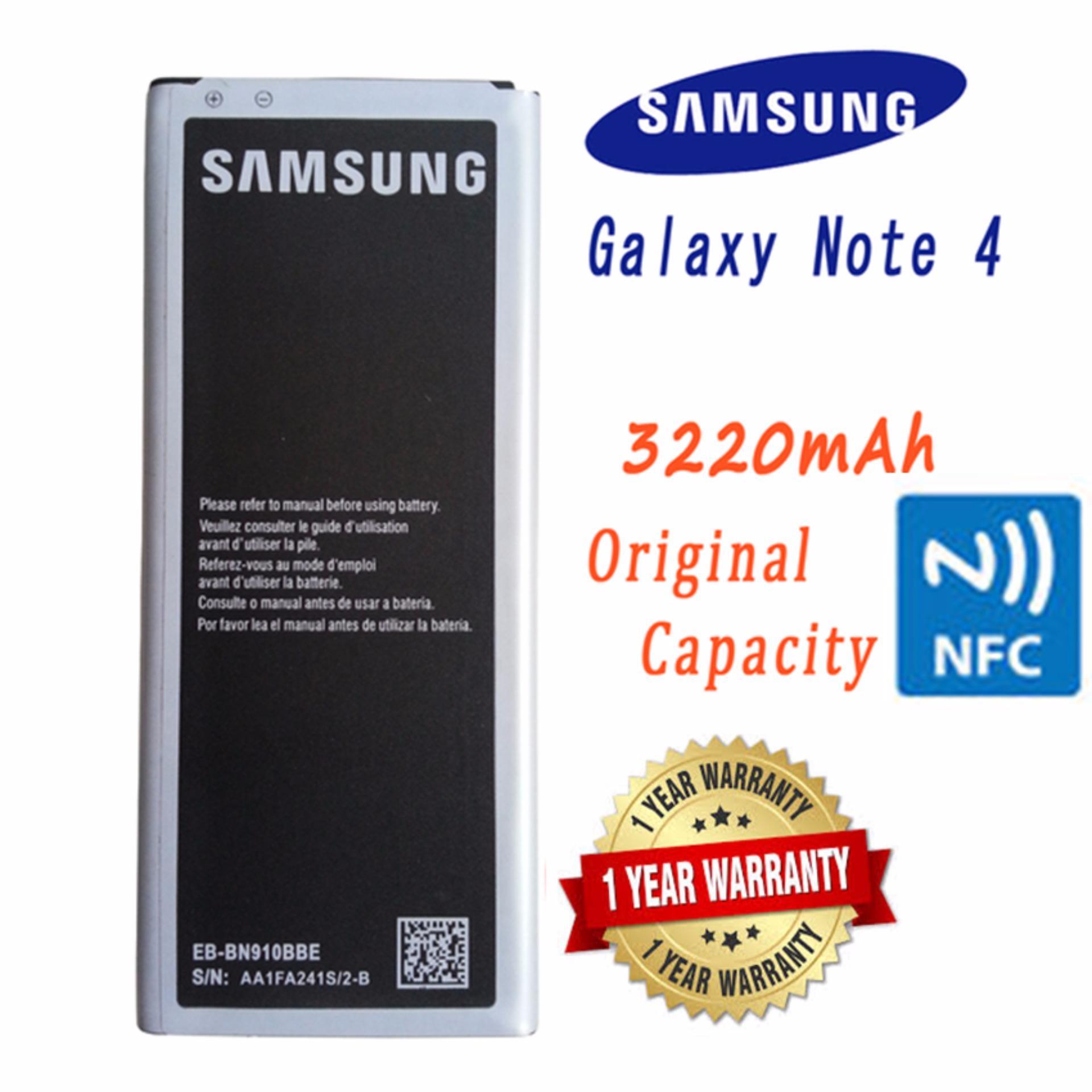So sánh giá Pin Samsung Note 4 NFC (Đen) – Hàng nhập khẩu Tại Pacific