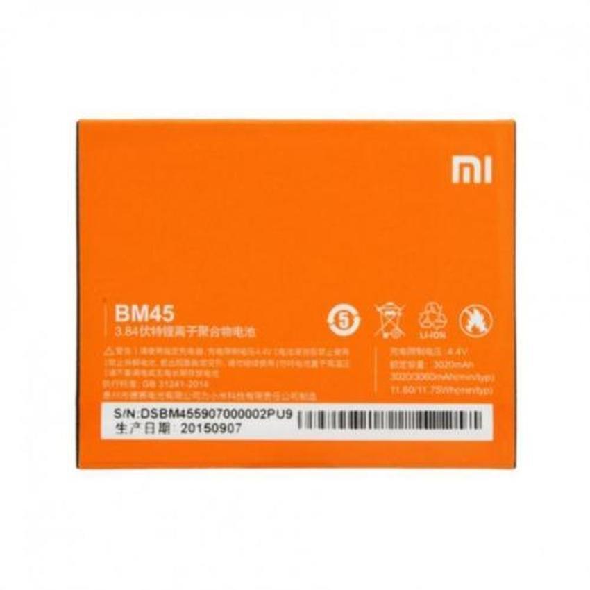 Pin xịn thay thế cho Xiaomi Redmi Note 2 (BM45)-Hàng nhập khẩu
