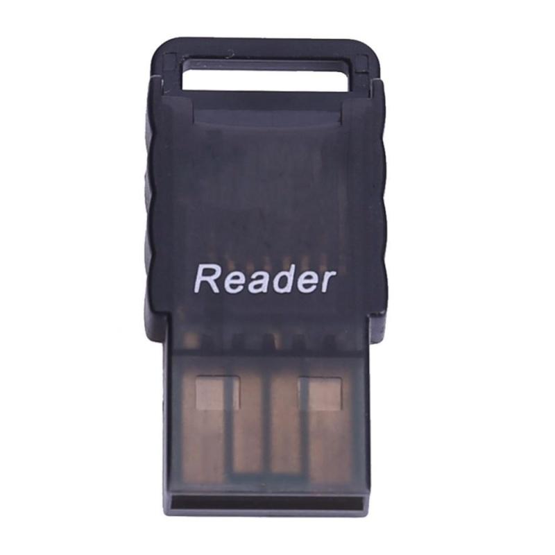 Bảng giá Portable Micro SD to USB 2.0 TF Memory Card Adapter Reader(Black) - intl Phong Vũ