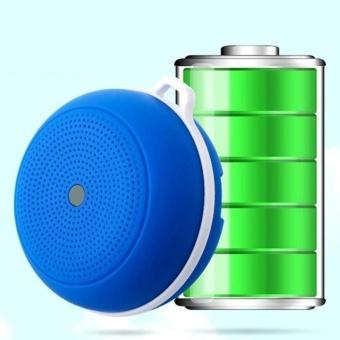 Portable Mini Wireless Bluetooth V4.0 Outdoor Handsfree Speaker Blue - intl