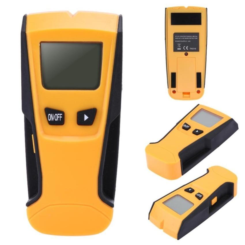 ... Portable Stud Center Finder Wall Metal AC Live Wire Scanner Metal Detector (Orange) ...