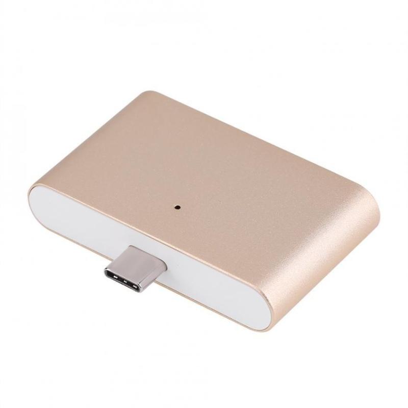 Bảng giá Portable USB 3.1 Type-C USB OTG Multifunction SD / TF Memory Card Reader Hub Adapter (Gold) - intl Phong Vũ