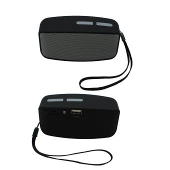 Portable Wireless Bluetooth Stereo FM Speaker For Smartphone Tablet Laptop - intl