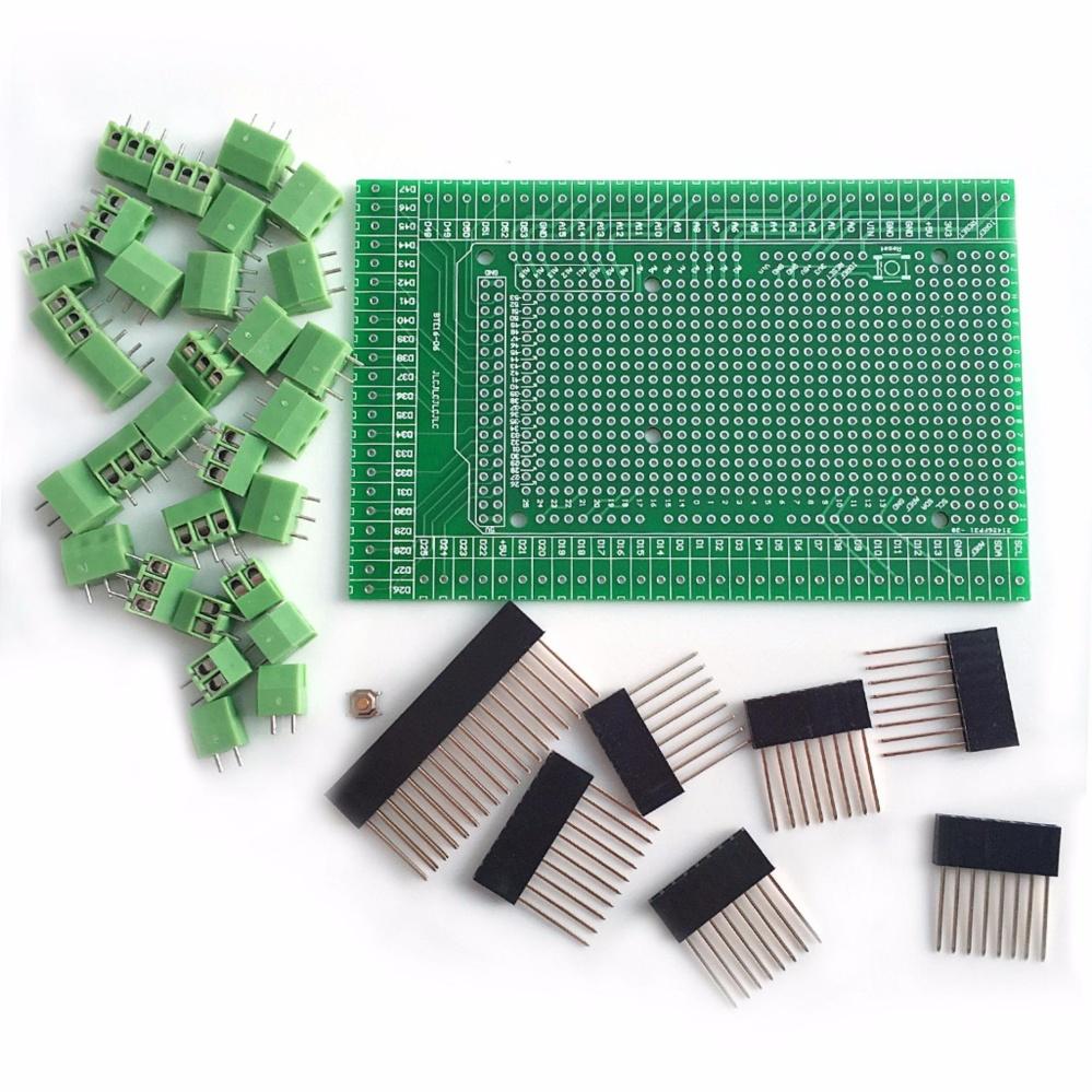 Mua Nguyên mẫu Vít/Nhà Ga Khối Shield Ban Bộ ArduinoMEGA-2560 R3-quốc tế ở đâu tốt?