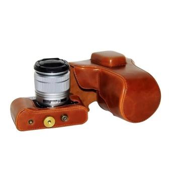 PU Leather Camera Case Bag Cover for Fujifilm XT10 Brown - intl - 8416025 , OE680ELAA979P3VNAMZ-18219545 , 224_OE680ELAA979P3VNAMZ-18219545 , 652680 , PU-Leather-Camera-Case-Bag-Cover-for-Fujifilm-XT10-Brown-intl-224_OE680ELAA979P3VNAMZ-18219545 , lazada.vn , PU Leather Camera Case Bag Cover for Fujifilm XT10 Brown