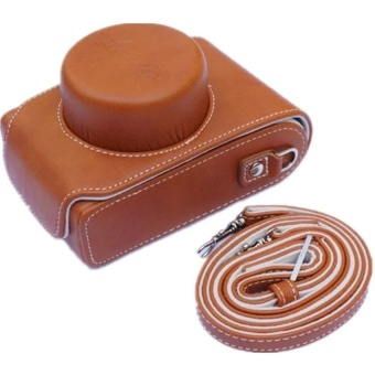 PU Leather Camera Case Bag for Leica D-LUX 109 - intl