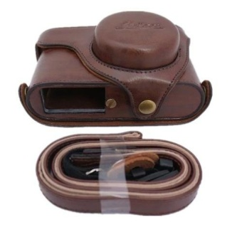 PU Leather Camera Case Bag for Leica X2 - intl