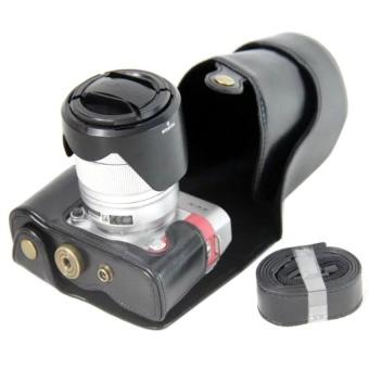 PU Leather Camera Case for Fujifilm X-A3 XA316-50/18-55mmLens(Black) - intl - 8407644 , OE680ELAA6Y9Z8VNAMZ-12759534 , 224_OE680ELAA6Y9Z8VNAMZ-12759534 , 511560 , PU-Leather-Camera-Case-for-Fujifilm-X-A3-XA316-50-18-55mmLensBlack-intl-224_OE680ELAA6Y9Z8VNAMZ-12759534 , lazada.vn , PU Leather Camera Case for Fujifilm X-A3 XA316
