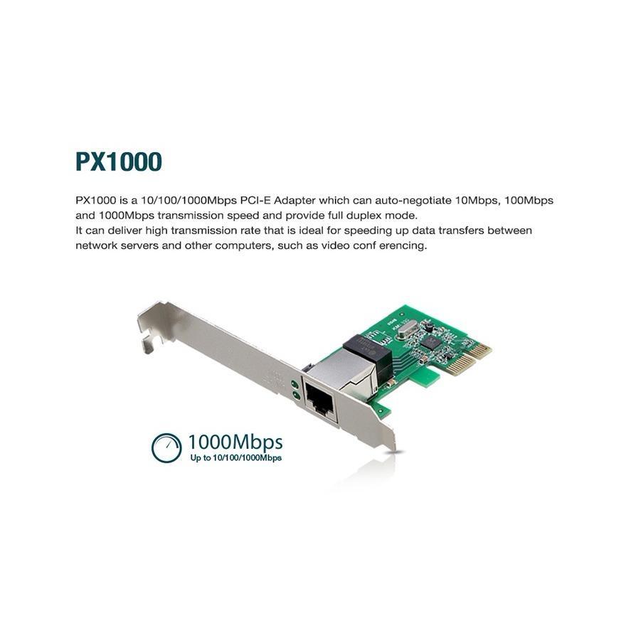 Giá bán PX1000 Card mạng PCI-e Gigabit