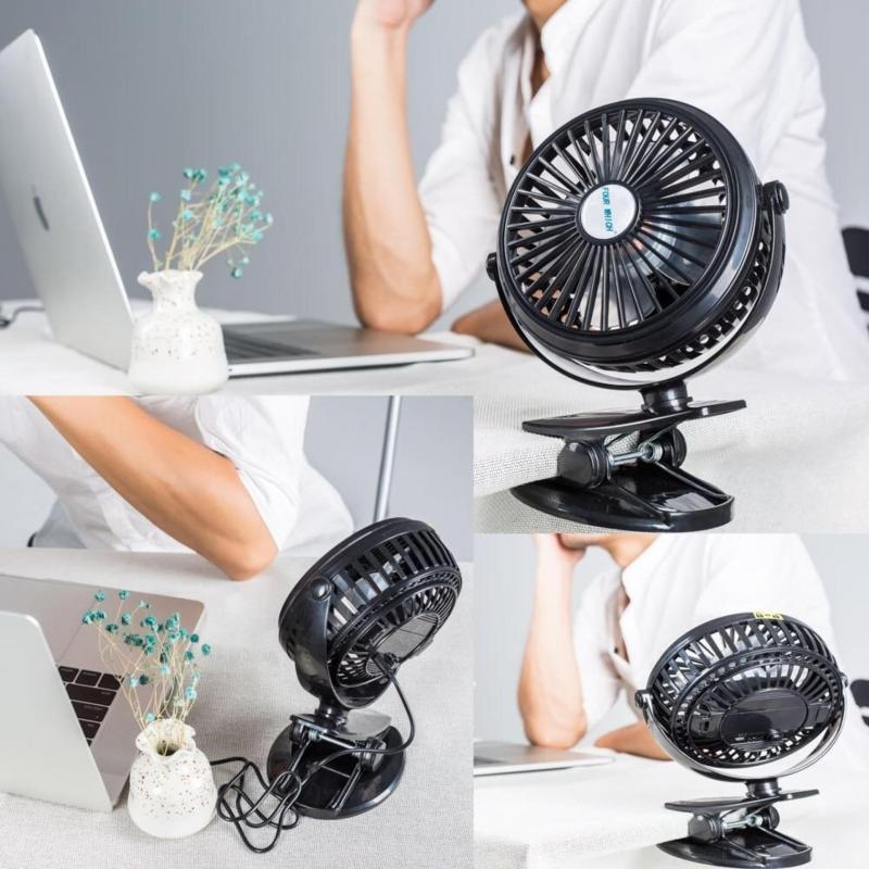 Bảng giá Quạt máy tính xách tay Best USB Desk Fan 2017 màu đen Phong Vũ
