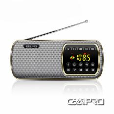 Radio Mini Nghe Nhạc Thẻ Nhớ, USB, Đài FM Keling F3
