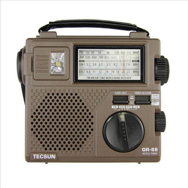 Trang bán Radio Tecsun GR-88 (Nâu)
